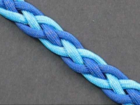 Cómo hacer una pulsera con hilos o cuerda, modelo zigzag de serpiente (videotutorial)