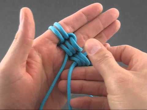 Cómo hacer nudos estilo piedra rúnica para pulsera o collar