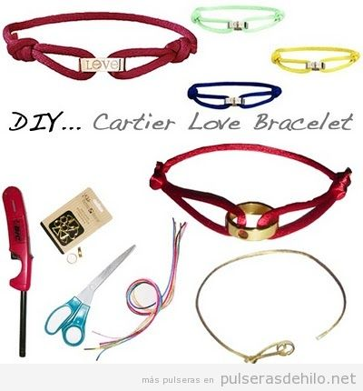 Tutorial Cartier Love Bracelet, paso a paso