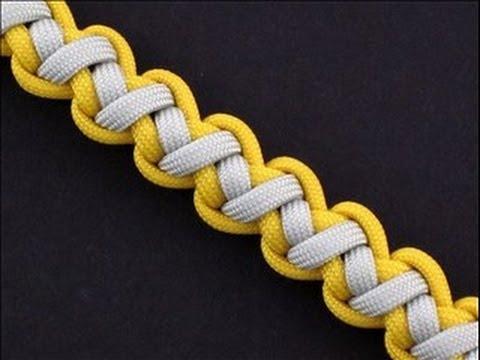 Videotutorial para aprender a hacer una pulsera con cordones, modelo Tomahawk