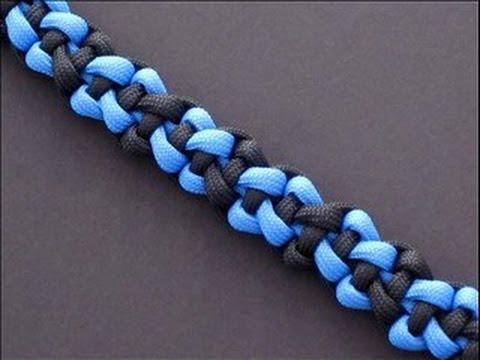 Videotutorial paso a paso, pulsera hecha con cordones, modelo «Lux Bar»