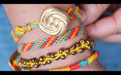 Cómo hacer un set de pulseras de la amistad (vídeotutorial)