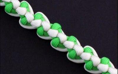 Cómo hacer una pulsera con cuerda de parcaídas, modelo «Biotic Bar»