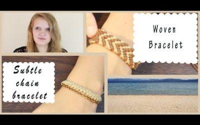Videotutorial para aprender a hacer una pulsera con cadenas y cuerdas estilo boho