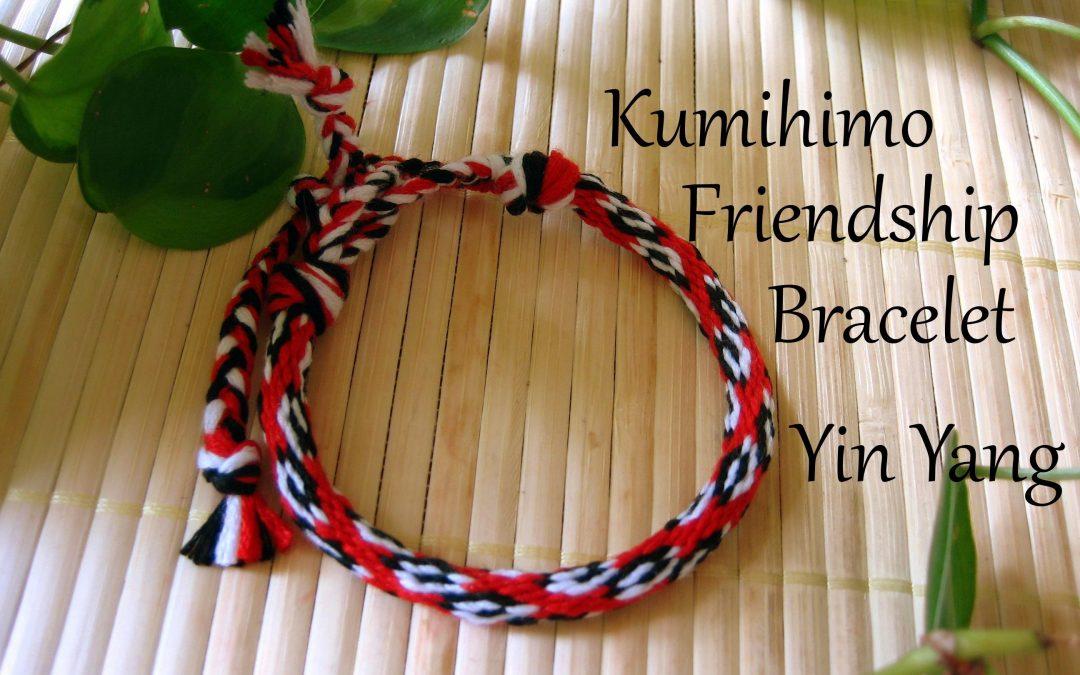 Videotutorial para hacer una pulsera de la amisad Kumihimo con el Yin Yang