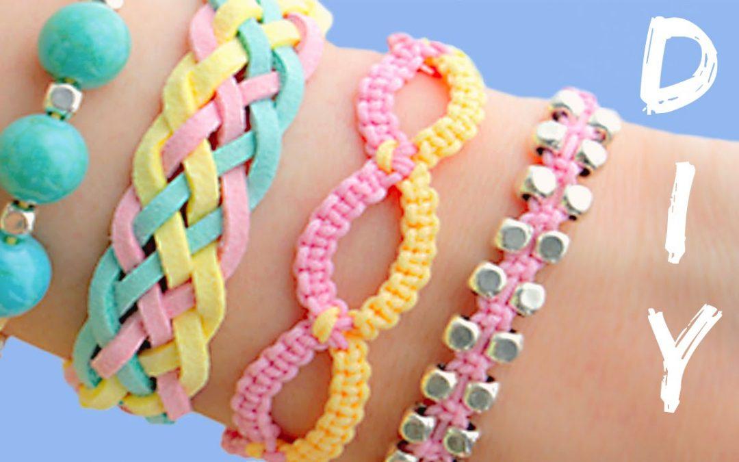 db4e1817662d 4 pulseras fáciles de hacer perfectas para el verano