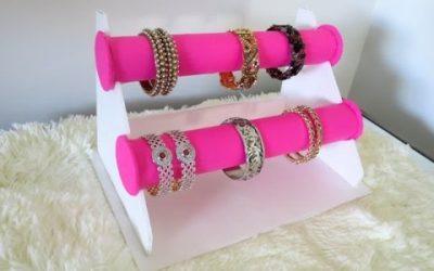 Soporte para colgar tus brazaletes DIY, vídeo paso a paso