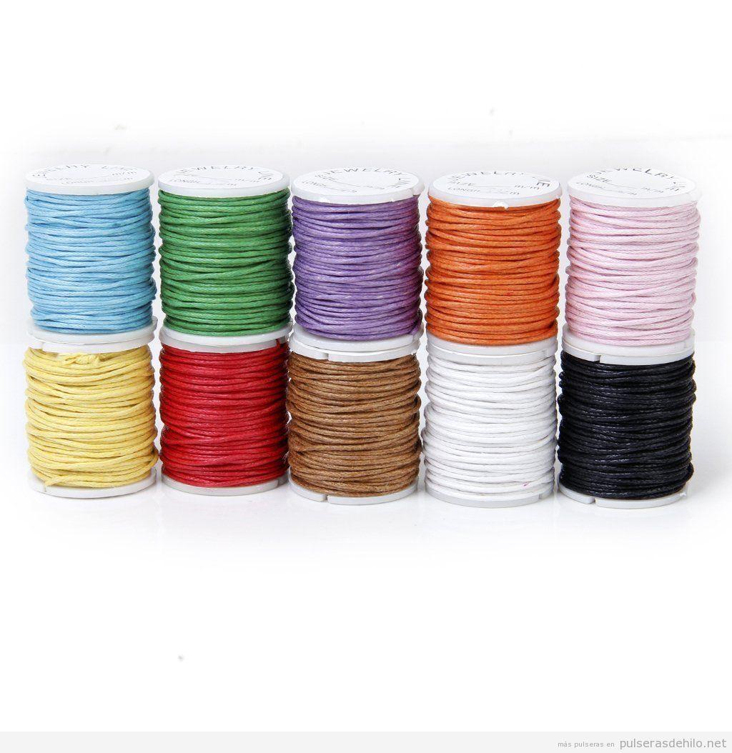 Comprar hilo algodón encerado barato