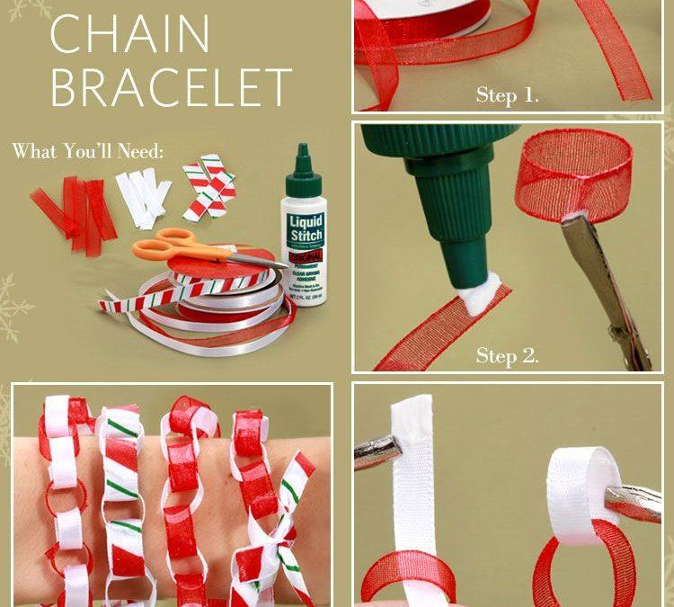 3 pulseras navideñas DIY con sus tutoriales