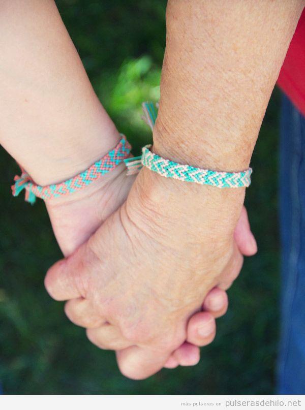 Pulseras de hilo para El Día de la Madre: ¡regala una a tu mamá!