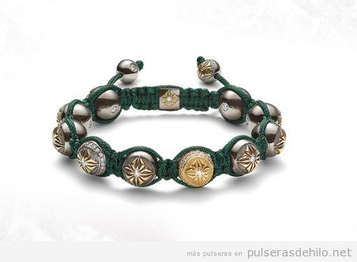 Propuestas de verano: pulseras de macramé con gemas y piedras preciosas y pulseras de plata