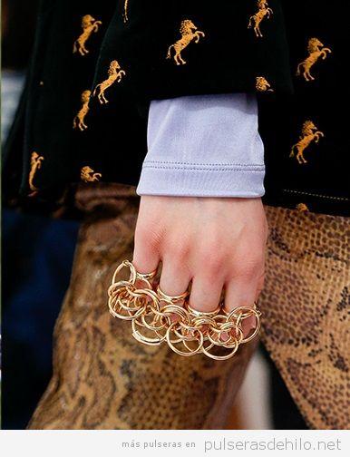 Pulseras de moda, anillos pulsera