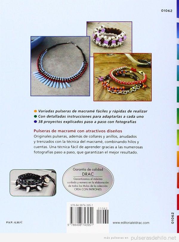 Comprar libro manual pulseras macramé y cuentas 2