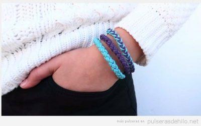 Cómo hacer una pulsera de cuero trenzado redonda? Te lo explicamos!