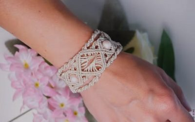 Cómo hacer una pulsera de macramé tribal para este verano
