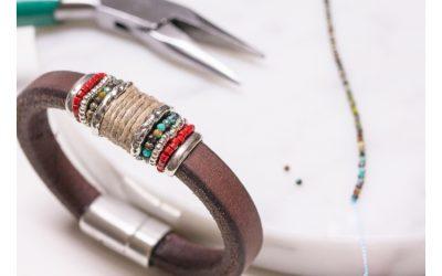 Materiales que necesitas para hacer una pulsera DIY
