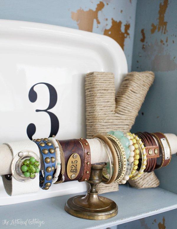 Soporte para pulseras DIY 1